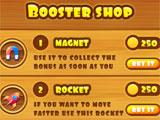 Booster shop in Dwarf Runner