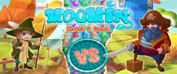 Moomin Match3 - Enjoy this exhilarating match-3 game that comes with a variety of interesting features.