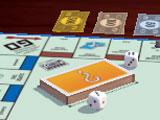 Rolling the die in Monopoly Online