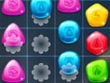 Cascading gems in Match Drop