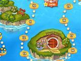 Little Robinson Adventures level selection menu
