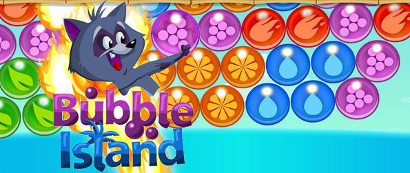 Bubble Island - बबलस आइलेण्ड अपनी पहेली हुनर को जाॅंचे ।