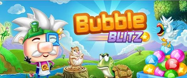 Bubble Blitz - Bubble Blitz – wciągająca 60-sekundowa gra bubble na Facebooku!
