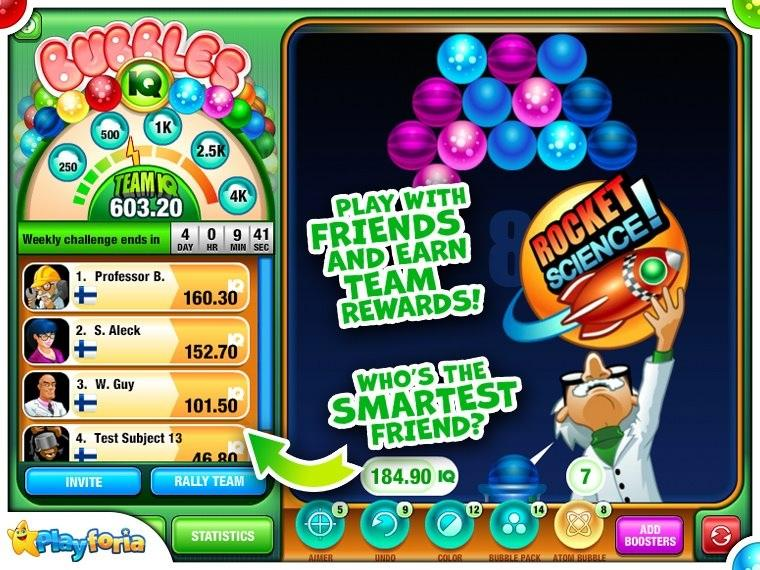 Bubbles IQ game (apk) free download for Android/PC/Windows