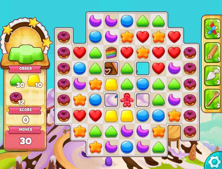 How To Get Cakes In Cookie Jam Level