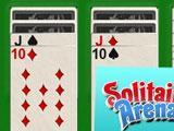 Amazing Game Play in Solitaire Arena - Enjoy!