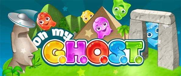 Oh My Ghost - Enjoy a cute match 3 swipe game full of fun levels and spooky stories.