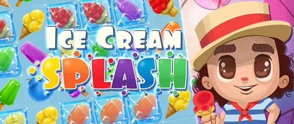 Ice Cream Splash - Enjoy a fun and addictive connect-3 experience that you won't be able to let go of.