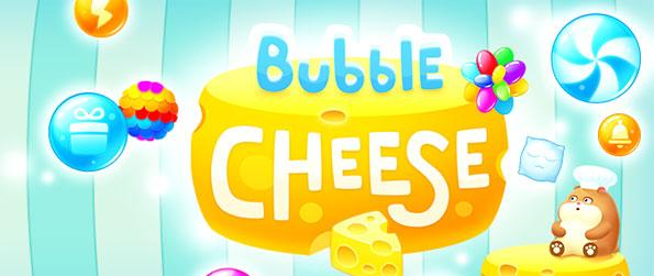 Bubble Cheese - Enjoy a bubble shooter where you play through the house of Supercat in a fun new Facebook game.