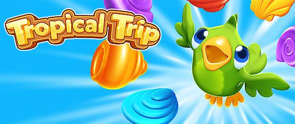 Tropical Trip - Enjoy collecting different shells as you explore the wonderful tropical islands in this exciting match-3 game in Facebook.