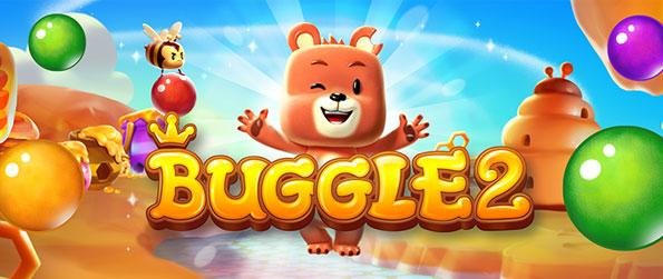 Buggle 2 - Shoot and match the puzzle bubbles as you travel through the honey-filled world of Buggle 2 in this brimming new sequel to your favorite bubble shooter game!