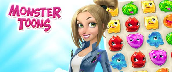 Monster Toons - Play this excellent match-3 game which is full of amazing features that can get anyone hooked.