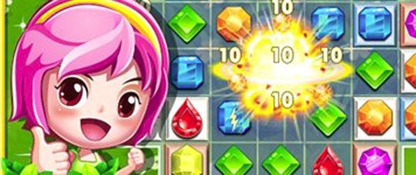 Gem Stars - Play this fun filled match-3 game that'll take you on a memorable and fun filled adventure.