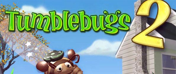 Tumblebugs 2 - Help Tumble on his quest to round up all the colored beetles and get rid of them before they stir up trouble.