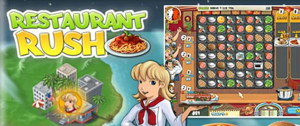 Restaurant Rush - Enjoy this excellent mix of time management and match-3 gameplay.