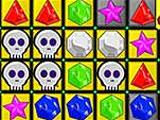 Zombie Jewels: Skulls and yellow tiles