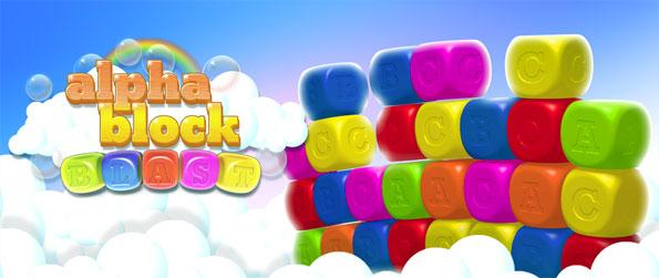 Alphablock Blast - Play this fun and exciting match-3 game that comes with a refreshing gameplay twist.