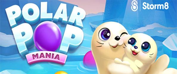 Polar Pop Mania - Reunite the siblings, enjoy 19 other obstacles, and solve over 100 puzzles including underwater ruins and the icy arctic in this fun bubble shooter game!