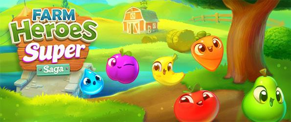 Farm Heroes Super Saga - Farm and Match 3 gaming come together in one exciting package.