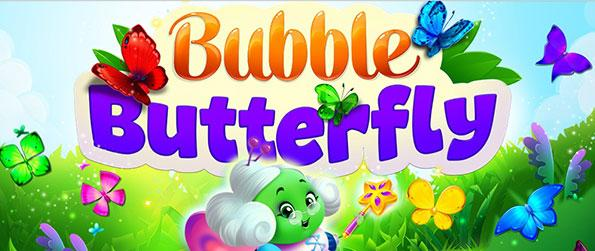 Bubble Butterfly - Dive into a huge fairy realm filled with wonders in this action-packed bubble shooter, Bubble Butterfly!