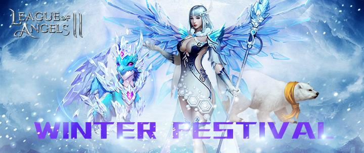 League of Angels 2 Winter Festival Items Debut