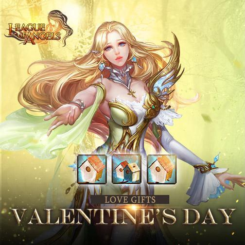 League of Angels: Happy Valentine's Day