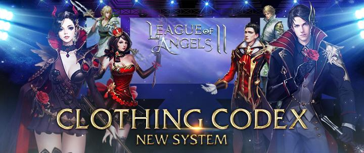 League of Angles 2's Brand New Costume Codex System