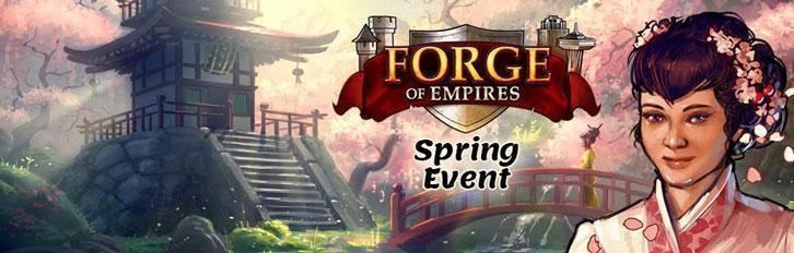 Forge of Empires's Spring Events Start Today!