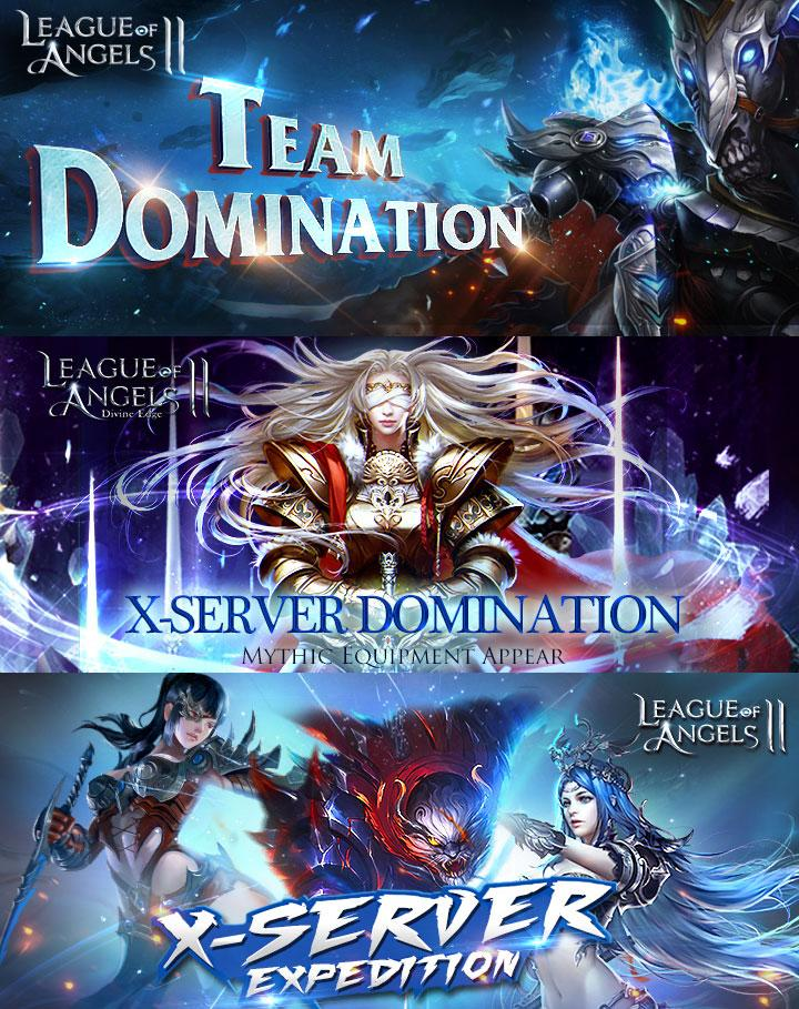 First Season of Team Domination Begins in League of Angels 2