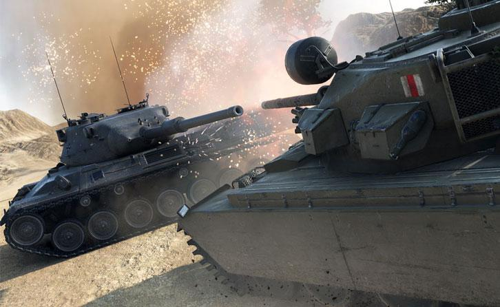 Epic Tank vs Tank Action in World of Tanks