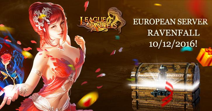 New European Server Launches for League of Angels!