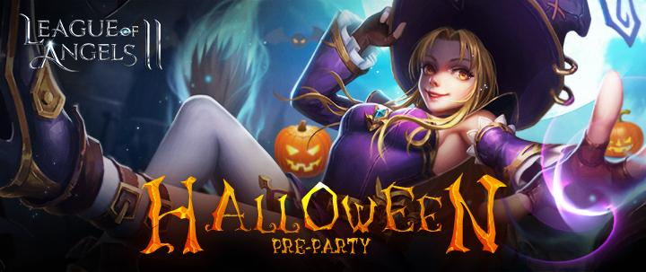 League of Angels 2 Halloween Pre-party Brings Abundant Gifts!