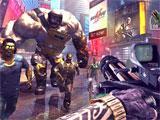 Unkilled: Minigun gameplay