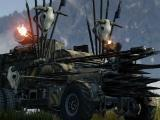 Well-equipped war machine in Crossout