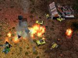 Gameplay in Warzone 2100