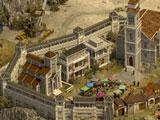 Developed castle in Castle Fight: Crusader's Glory