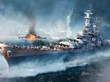 Battleship in Fleet Glory