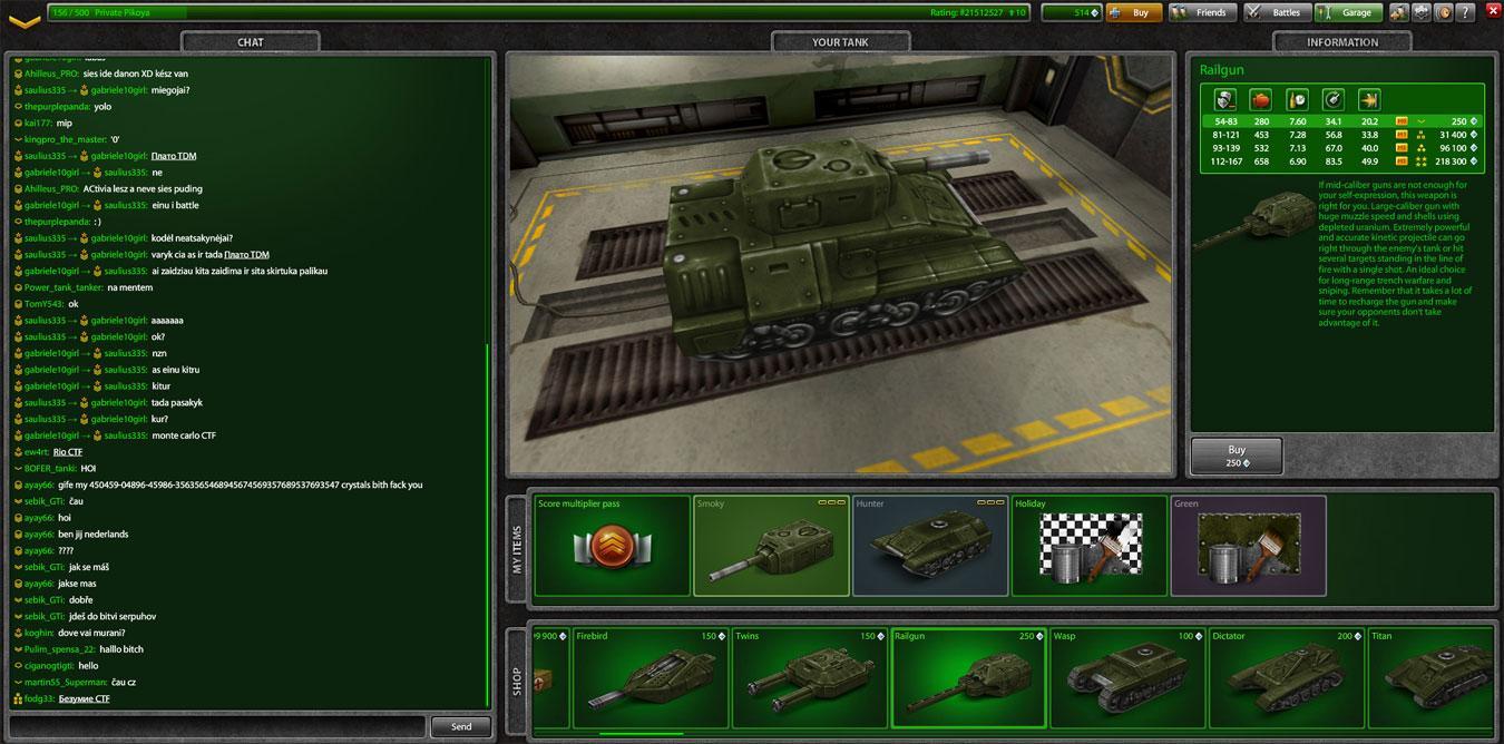 Tanki Online - Tough Games