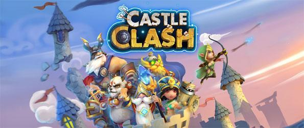 Castle Clash - Defend your land in huge and fun battles in this stunning strategy game.