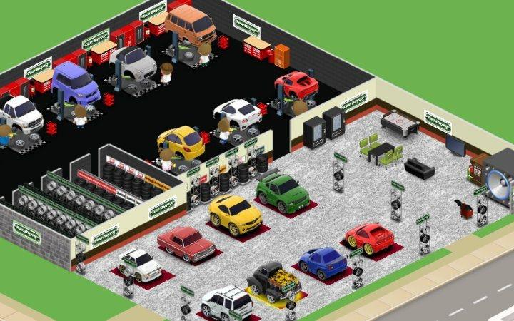 Car Town Tough Games