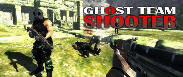 Ghost Team Shooter - Enjoy a fast paced, stunning first person shooter game where you take on task to survive and outlast waves of enemy units hunting you.