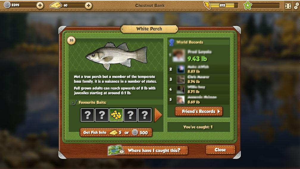 Fishing world tough games for Fish world games