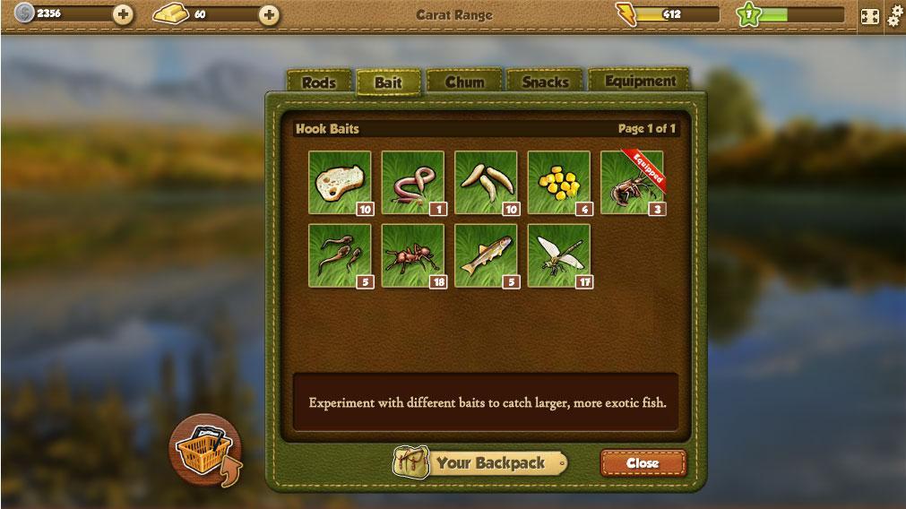 Fishing world tough games for Fish world game