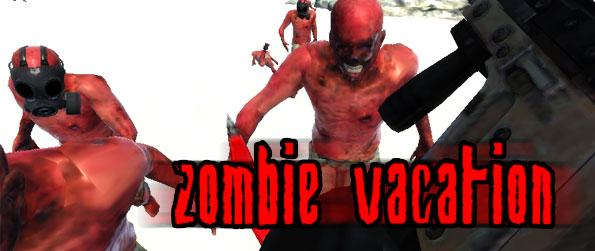 Zombie Vacation - After just surviving a plane crash, get fazed with the unwelcoming residents of a tropical island and aim to survive once again, from this horrid fate.