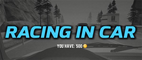 Racing In Car - Play this fun and addictive game and try to get a really high score as you dodge through all the traffic.