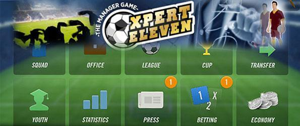 Xpert Eleven Football Manager - Create your own league where you can invite peers to play with in this football management game.