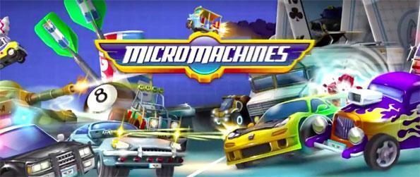 Micro Machines - Drive tiny vehicles with big guns in this epic racing game Micro Machines.