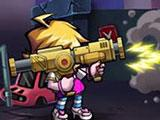 Zombie Diary: Rocket launcher in action