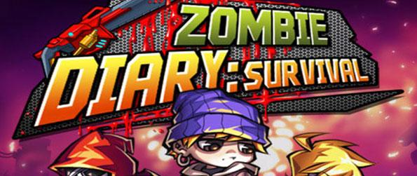 Zombie Diary - Fight off hoards of zombies and survive in this exhilarating 2D side-scrolling action game, Zombie Diary!