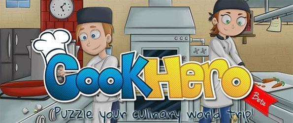 Cook Hero - Use this food flavored match 3 game to learn real cooking recipes.